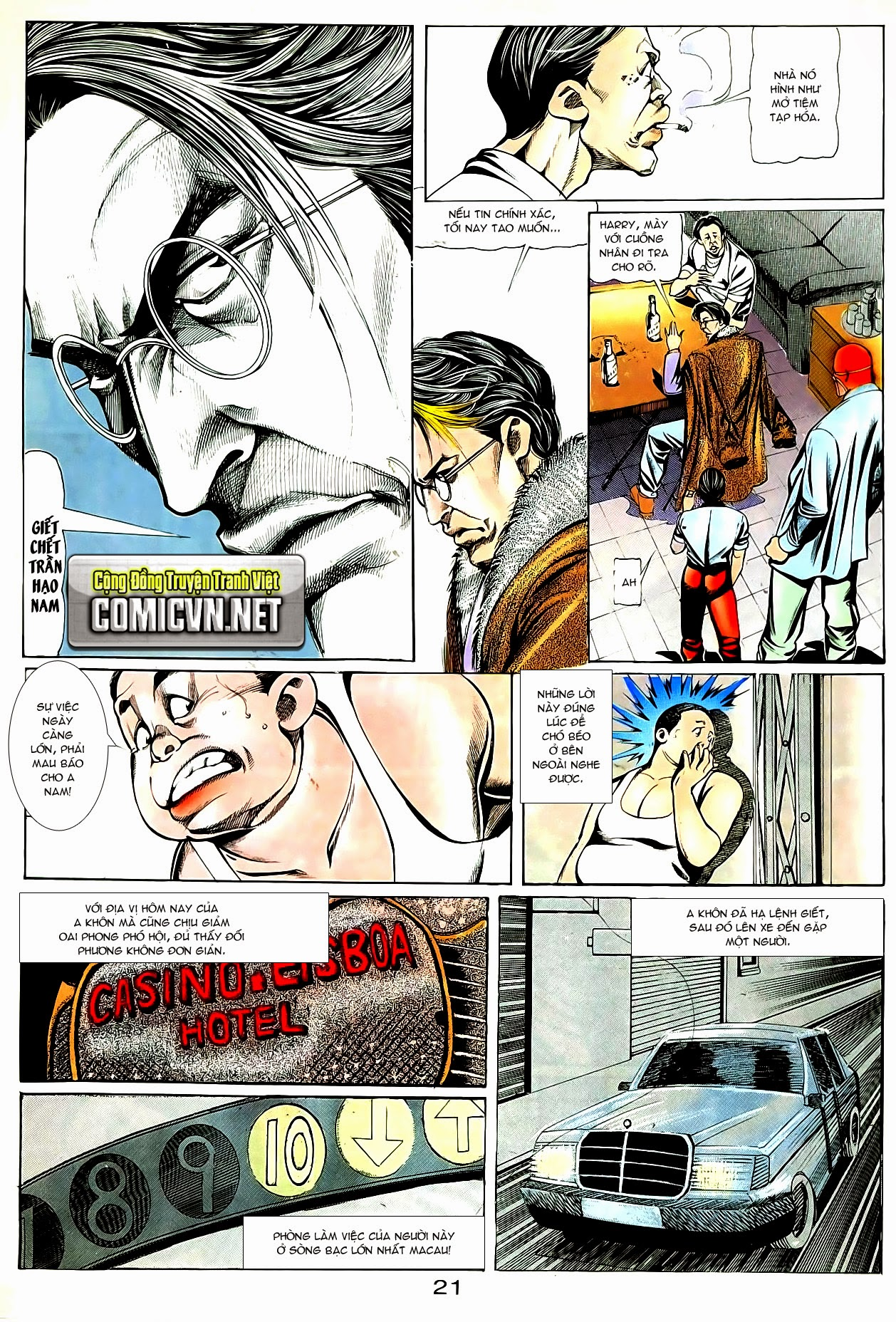 Người Trong Giang Hồ chapter 84: đỗ vương hạ tân trang 24
