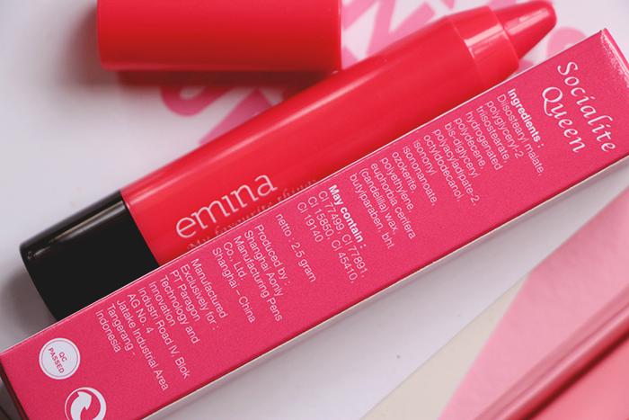 Vani Sagita Emina Cosmetics My Favourite Things Lip Color Balm Socialite Queen