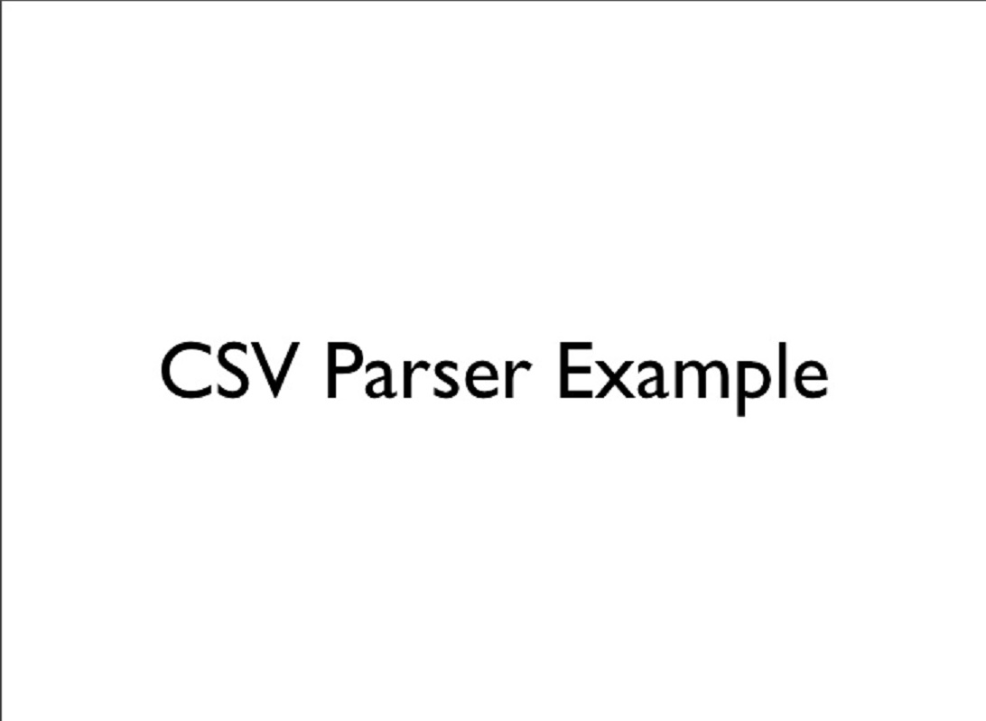 2 Ways to Parse CSV Files in Java - BufferedReader vs Apache