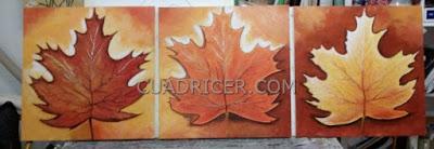 http://www.cuadricer.com/cuadros-pintados-a-mano-por-temas/cuadros-flores/hojas-raices-ca-as-de-bambu.html