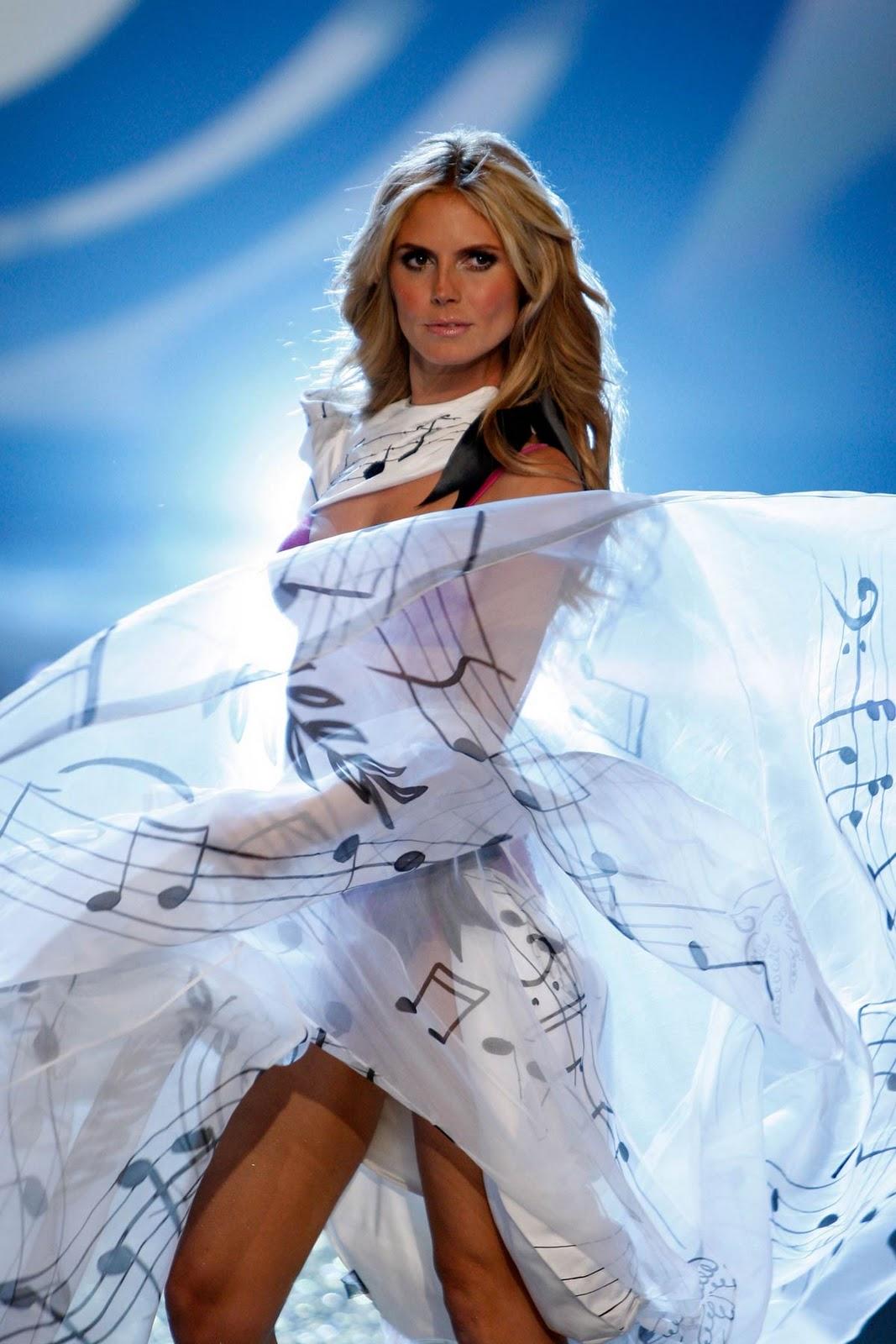 Heidi Klum Victoria Secret