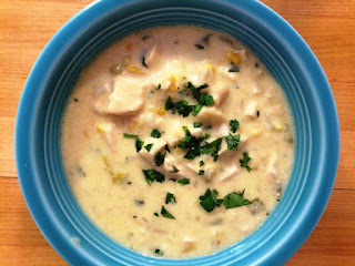 Country Fair Blog Party Blue Ribbon Winner My Other More Exciting Self's Mexican Turkey Corn Chowder