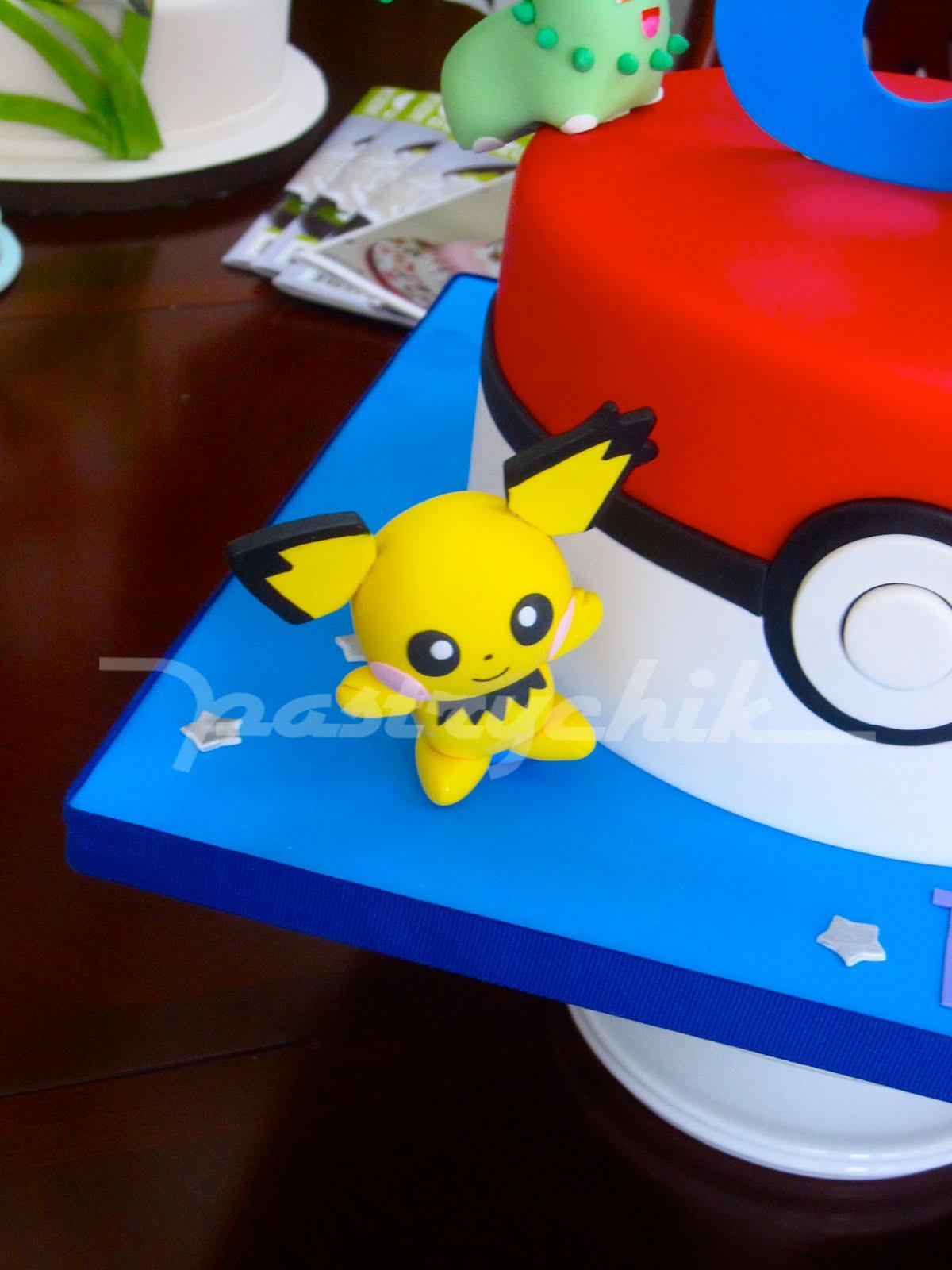 Pastrychik Natalie S Pokemon Cake
