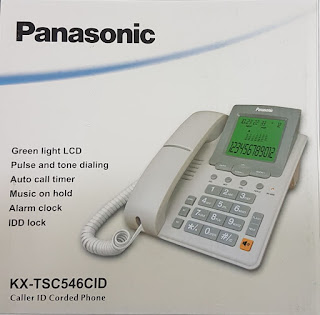546 Panasonic Landline set