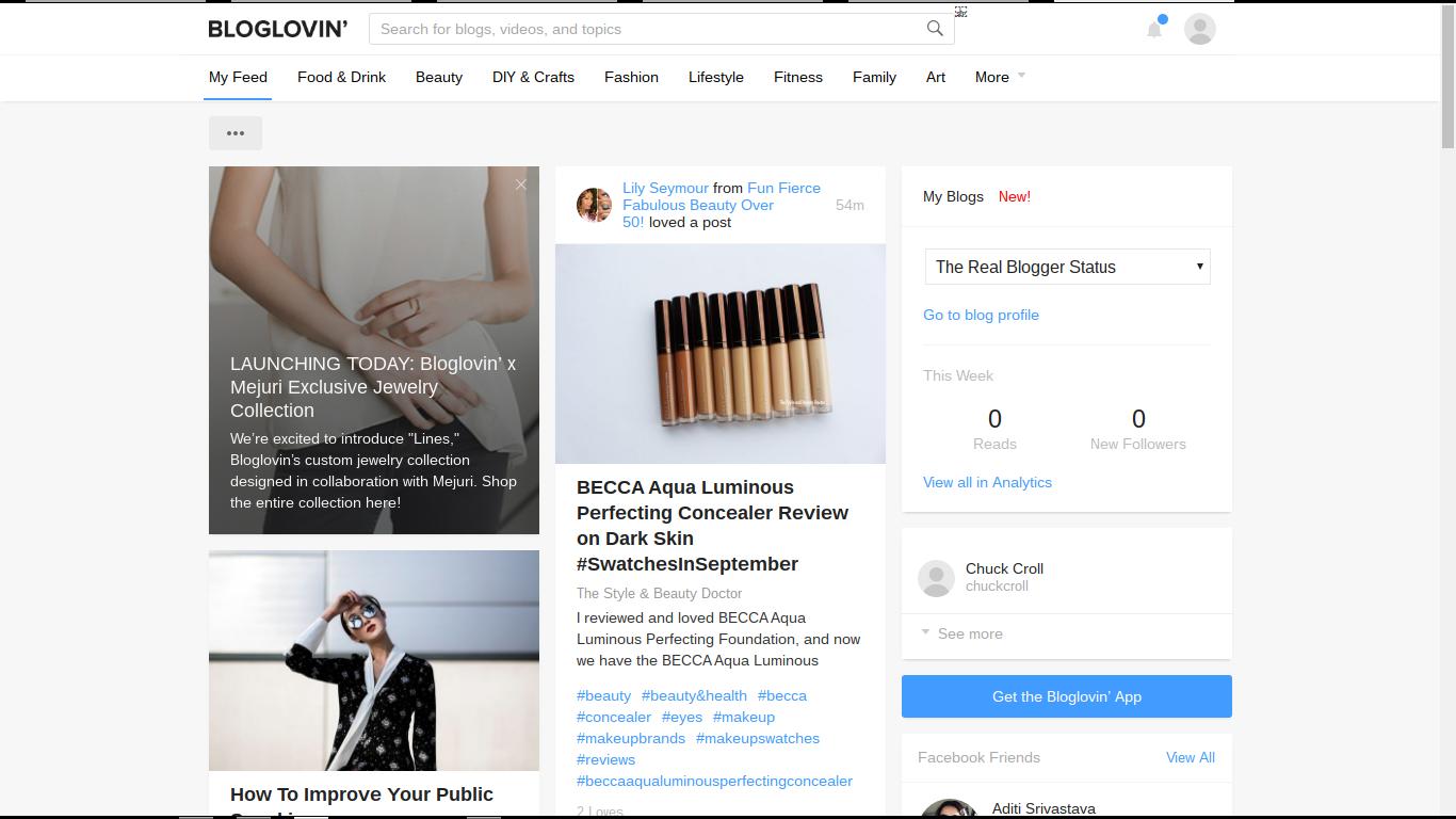 Verifying Blog Ownership, In BlogLovin