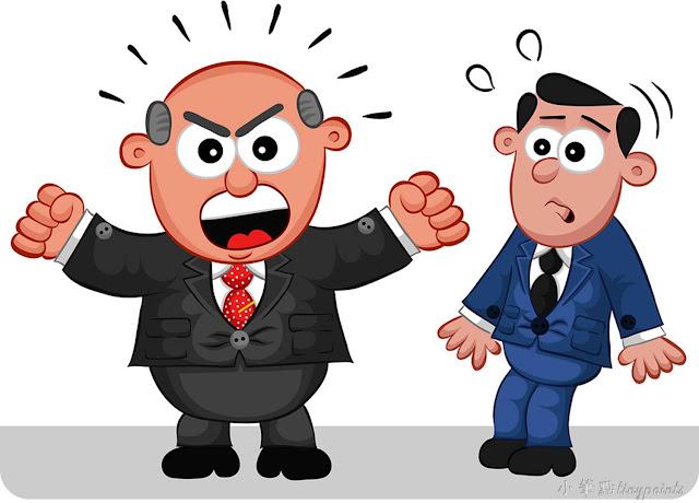 氣忿難平: 蠢同學變上司