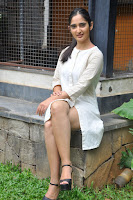 Radhika Cute Young New Actress in White Long Transparent Kurta ~  Exclusive Celebrities Galleries 045.JPG