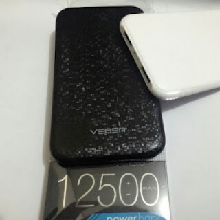 POWERBANK VEGER 12500MAH DUAL OUTPUT V56