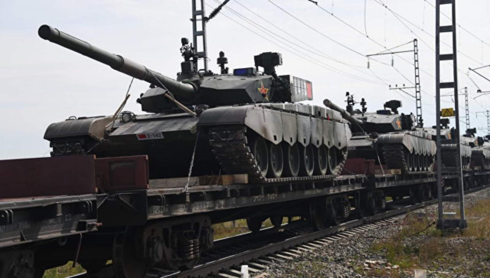 Media menyebut latihan East-2018 Rusia sebagai sinyal ke seluruh dunia