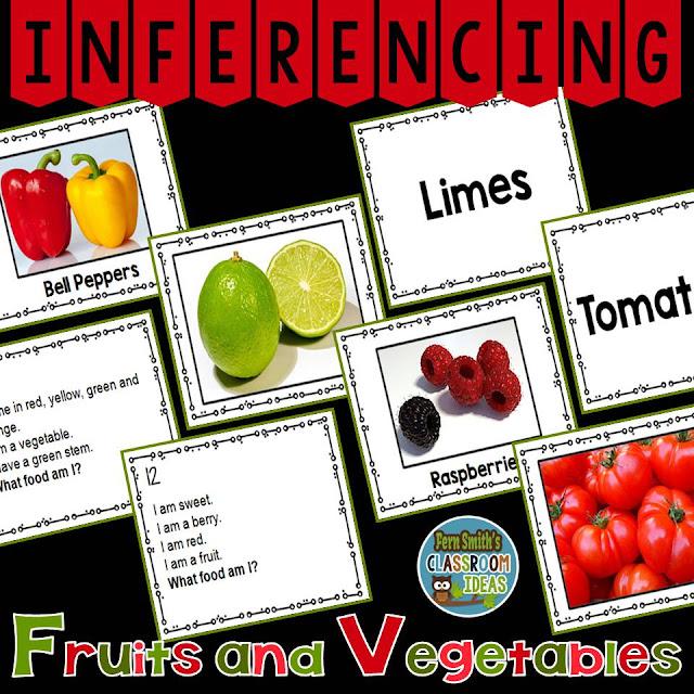 Fern Smith's Classroom Ideas Inferencing Task Cards available at TeacherspayTeachers.