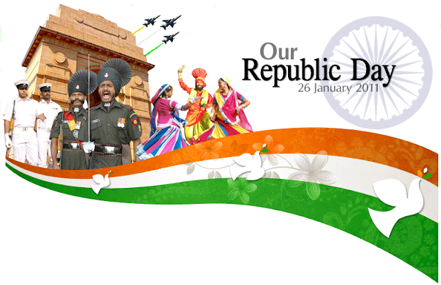 Happy Republic Day Essay In Tamil,Malayalam & Telugu Language [{26 January 2018}]