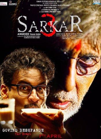 Sarkar 3 (2017) Hindi DVDRip x264 700MB