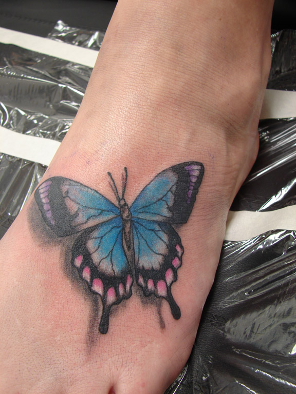 Foot Tattoo Designs For Women ~ All About