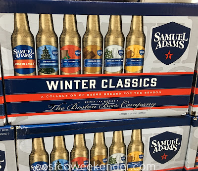 Taste some of Sam Adams winter seasonal beers with its Winter Classics brews