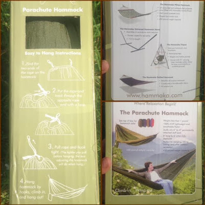 Hammaka Parachute Hammock gear review, Best Parachute Hammocks
