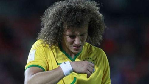 David Luiz bị gạch tên khỏi đội tuyển Brazil dự vòng loại World Cup 2018