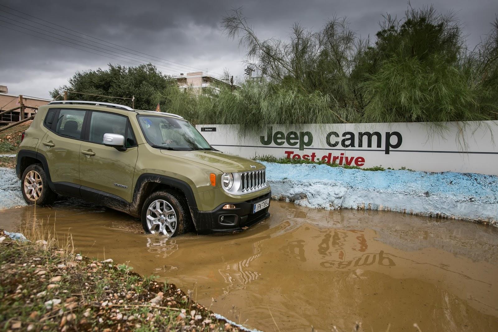 JEEP%2BCAMP GK 0446 Πετάμε ένα Jeep Renegade σε λάσπες, πέτρες, άμμο, λίμνες. Θα τα καταφέρει;