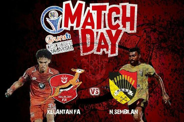 Live Streaming Kelantan vs Negeri Sembilan 26.5.2018 Liga Super