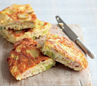 bacon and leek tortilla recipe