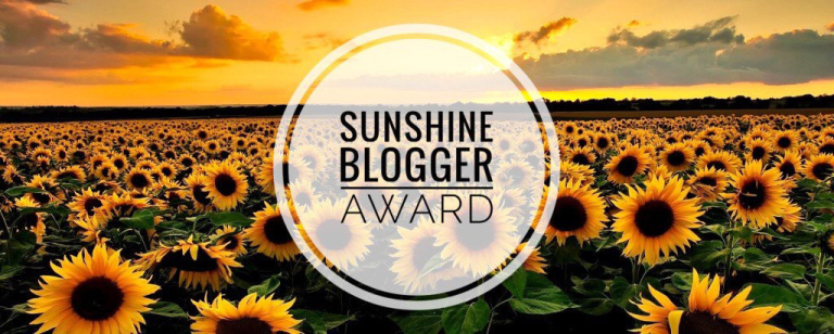 Sunshine Blogger Awards Nominee.