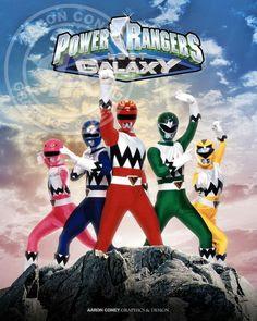Power Ranger Lost Galaxy - Siêu Nhân Power Ranger Lost Galaxy 2013 Poster