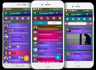 BBM Mod Disco Full Color v3.3.1.24 Apk Terbaru