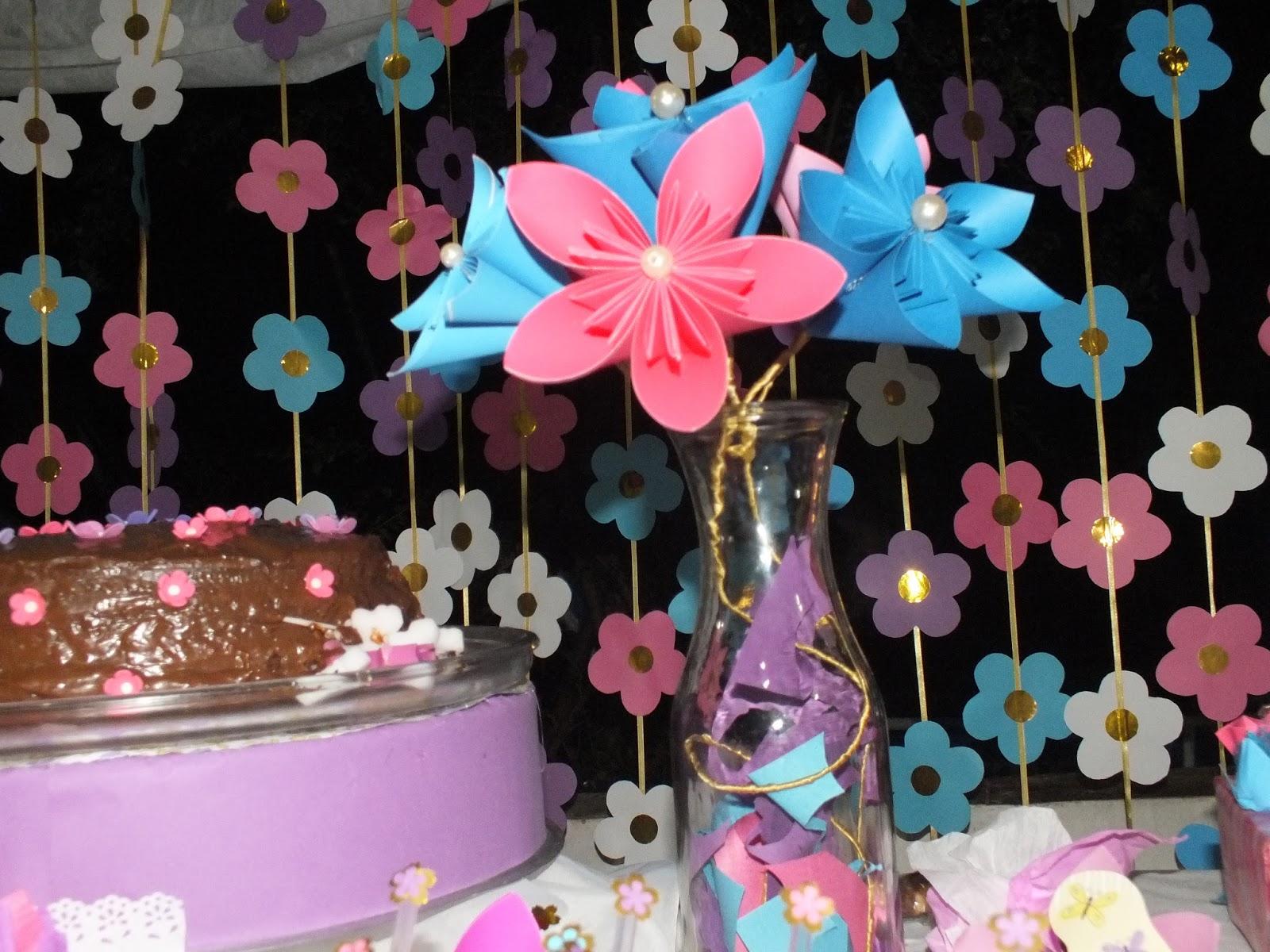 Flores De Aniversario: Criarte Papeis