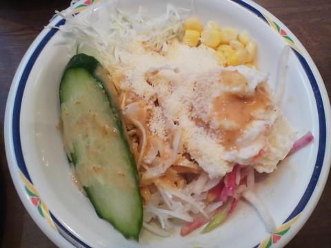 サラダ6 ステーキガスト一宮尾西店3回目