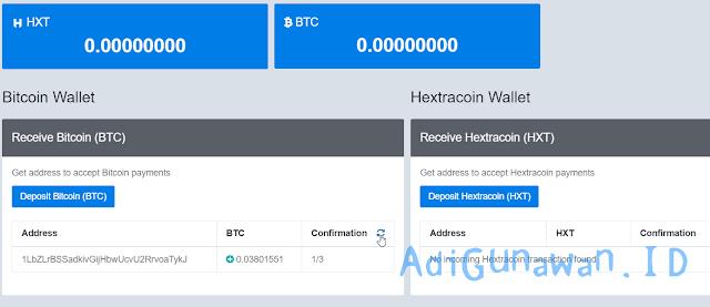 Panduan HextraCoin