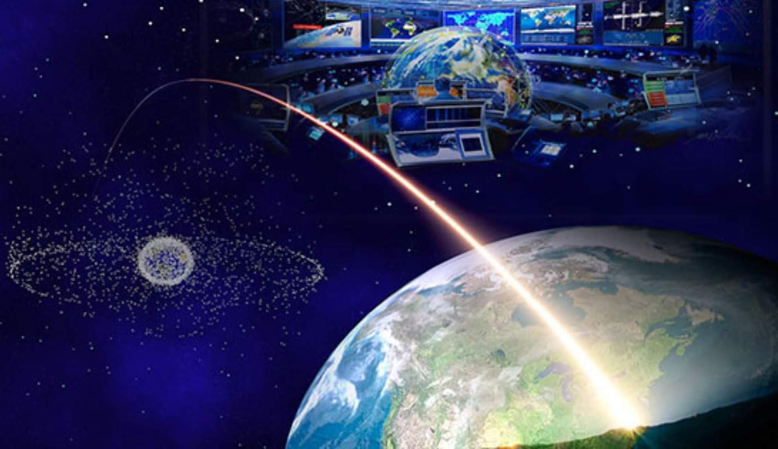 Di Rusia, berhasil menguji sistem penekan satelit