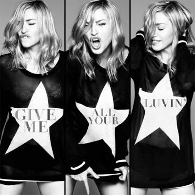 Madonna - Give me all your luvin' | Single art