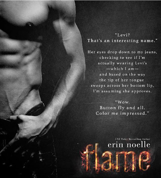 Release Day: Flame by Erin Noelle