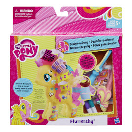 MLP Wave 6 Design-a-Pony Kit Fluttershy Hasbro POP Pony