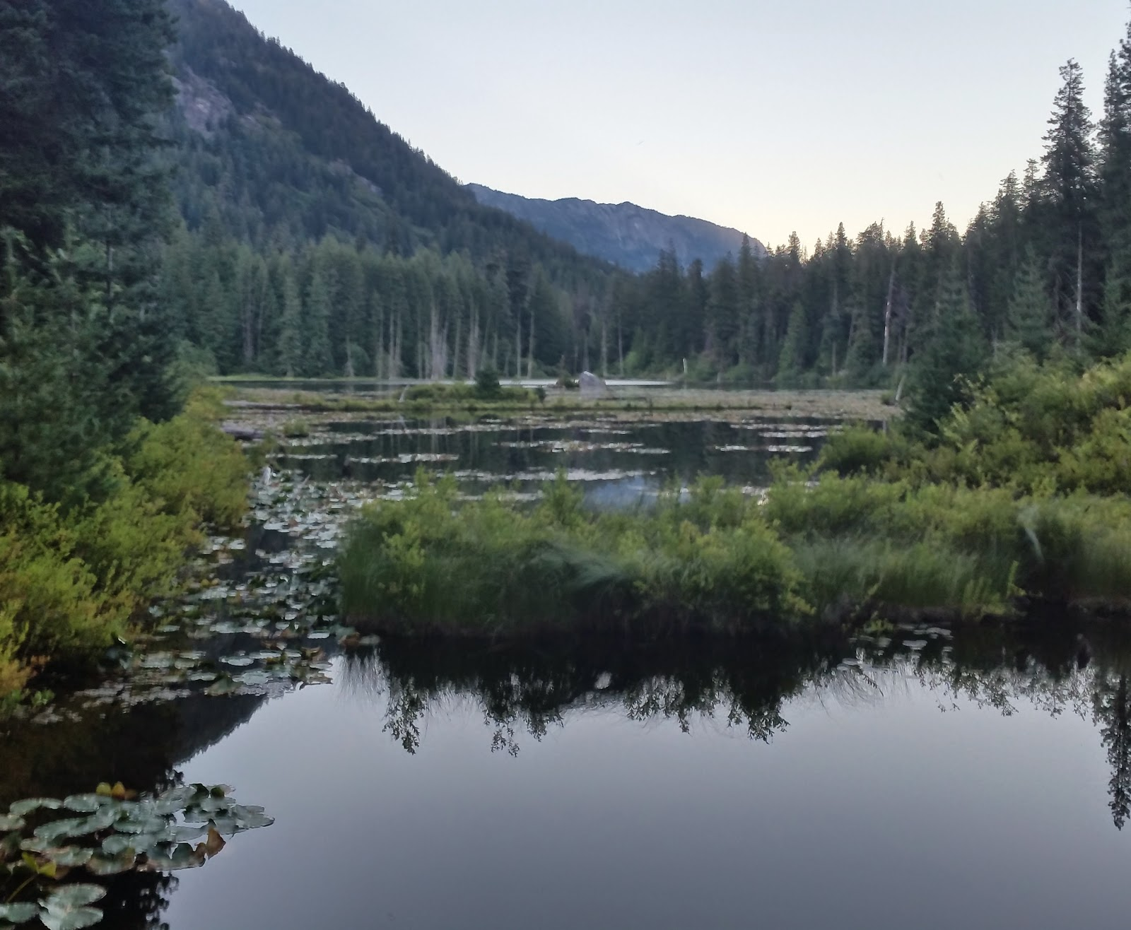 A beautiful image of Placid Lake on the PCT
