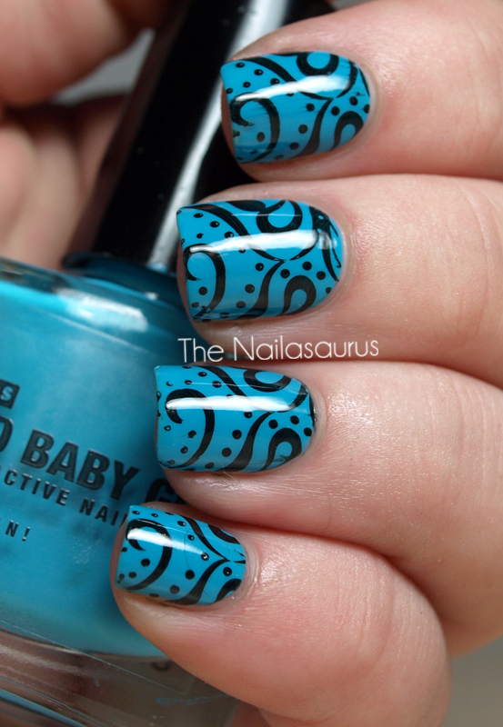 The Nailasaurus: Inspired by pattern