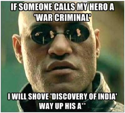 Netaji Subhash Chandra Bose and war criminal charge