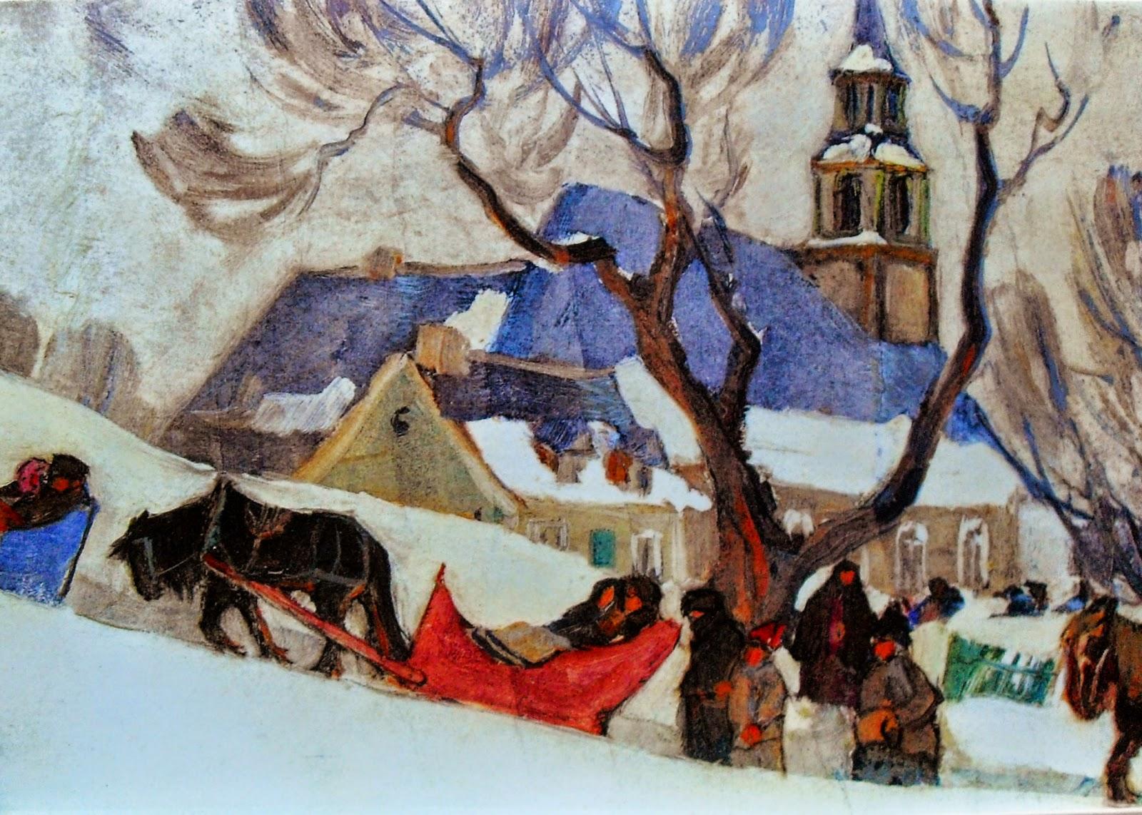 Clarence Gagnon  En plein air painter  TuttArt