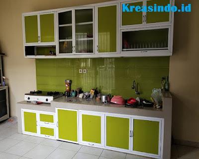 Jasa Kitchen Set Aluminium Acp Rangka Aluminium Di Jakarta