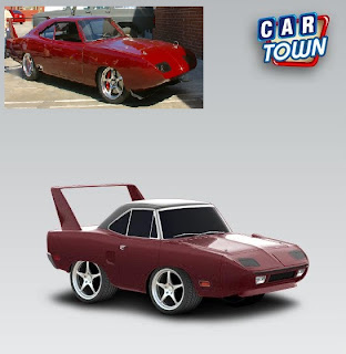 Plymouth Superbird 1970 Fast & Furious 6 by Levenske