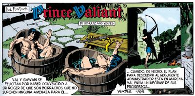 Príncipe Valiente de Hal Foster - Schultz, Gianni, Yeates edita Dolmen