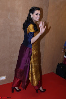 Dia Mirza Attends Power Women Seminar To Celete Womens Day 002.JPG