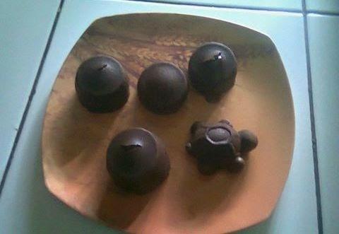 Senang banget dech rasanya bunda pertama kali  Resep Cara Membuat Coco Lava Kukus