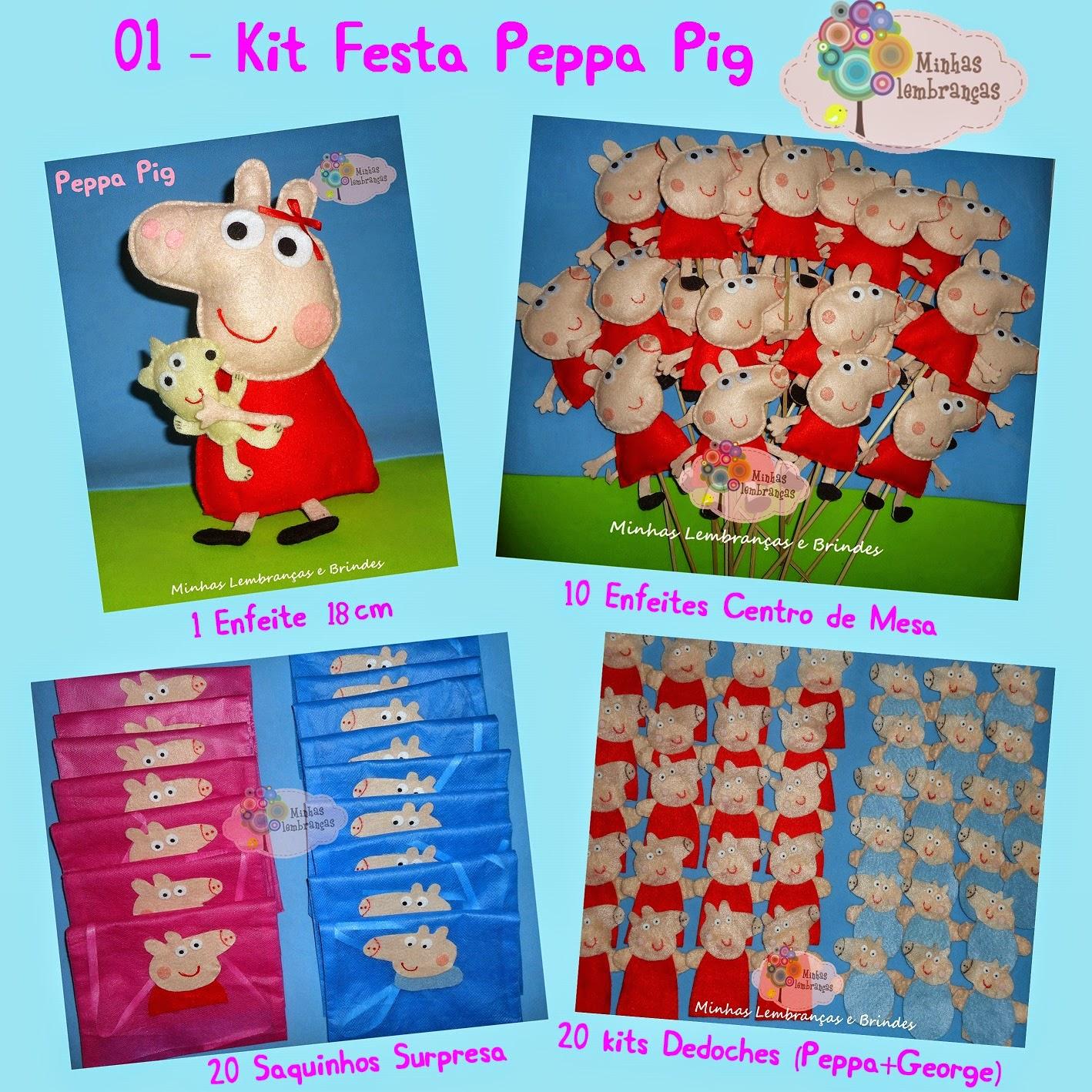 peppa pig-feltro-kit-festa1-lembrancinhas-festa-aniversário-brinde