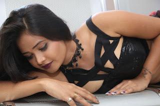 Shriya Vyas in a Tight Backless Sleeveless Crop top and Skirt 2.JPG