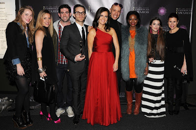 Yuli Ziv, Aliza Licht, Robert Verdi and others at Fashion 2.0 Awards 2012