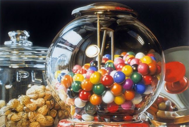 08-Gumball-Number-4-Charles-Bell-Hyper-Realistic-Paintings-www-designstack-co