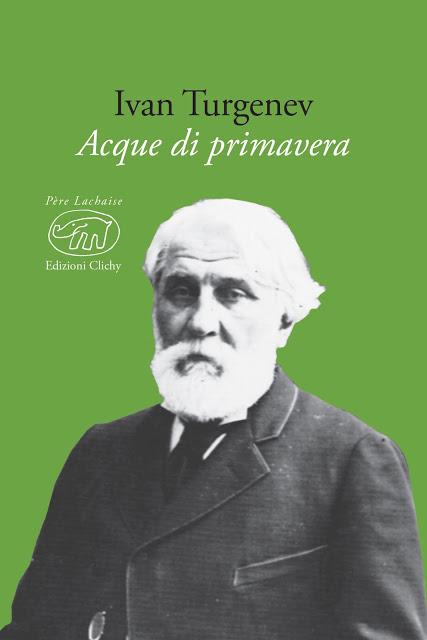 ACQUE DI PRIMAVERA romanzo di Turgenev