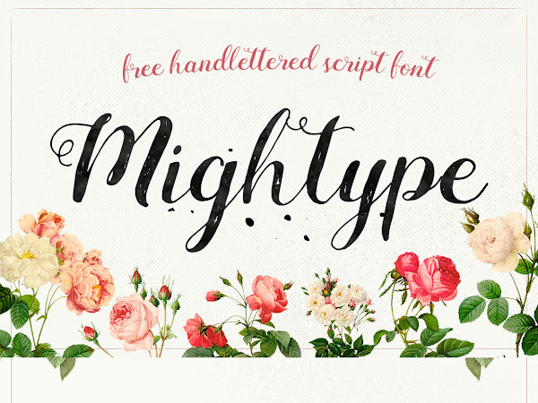 Download Mightype Script Handlettered Font Free