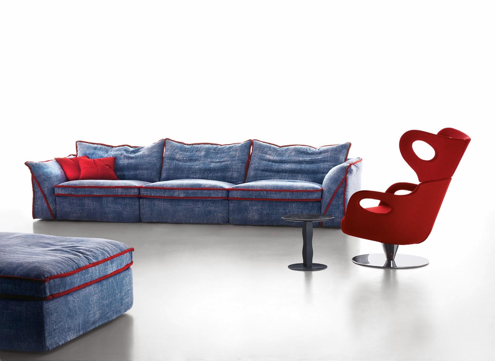 Divani blog tino mariani divano moderno five for Divano moderno