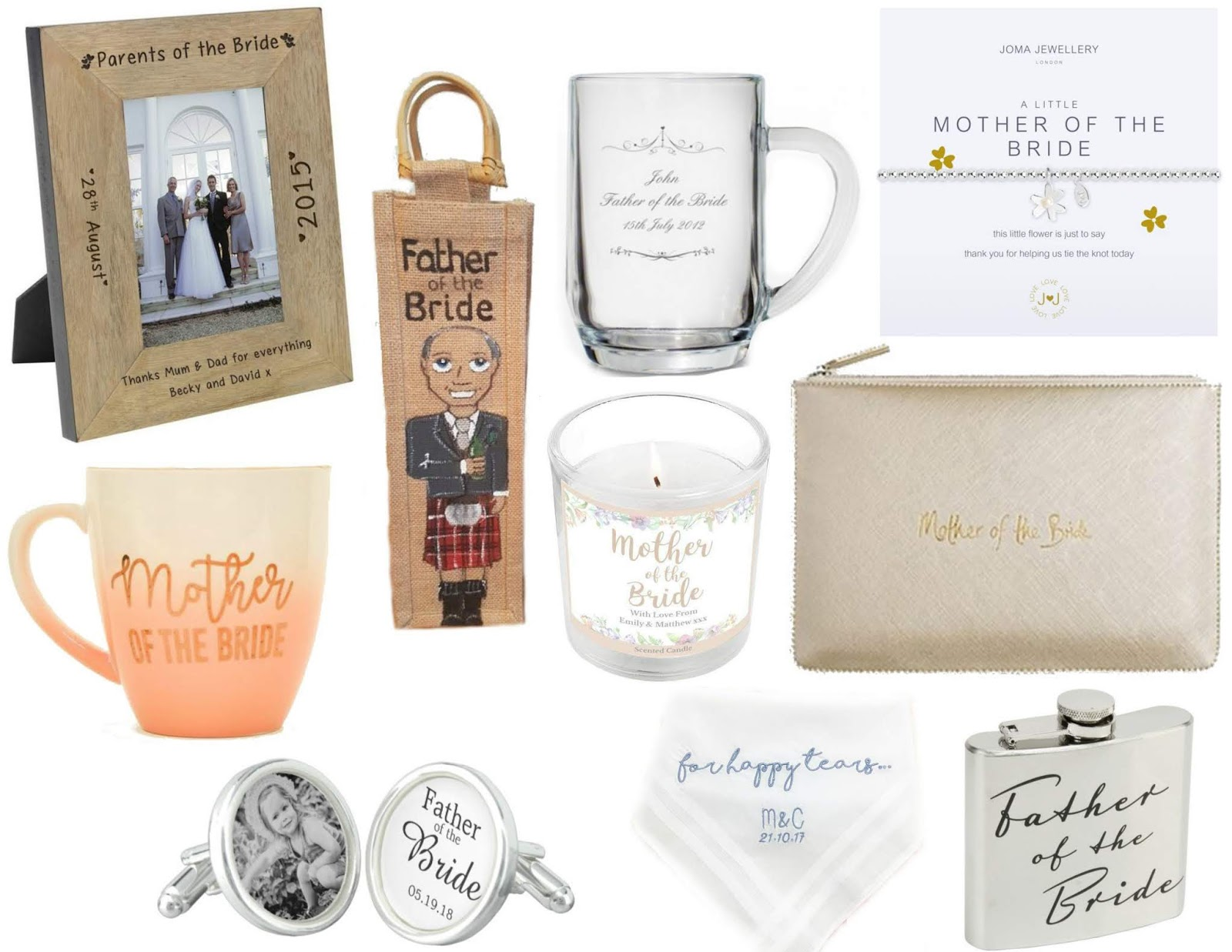 Wedding Gifts Parents Of The Bride Groom Jenna Suth